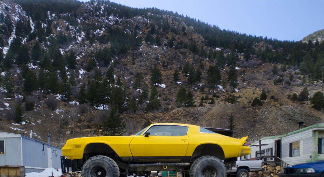 Trailer Truck, Georgetown, CO