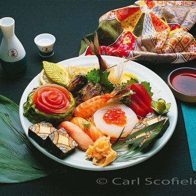 c Sushi food