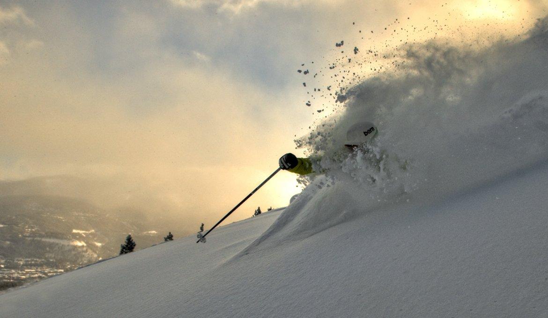 034b-2011 Glade skiing by Carl Scofield skiing photography, ski photography breckenridge